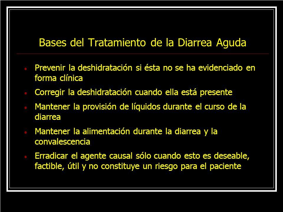 Bases del Tratamiento de la Diarrea Aguda
