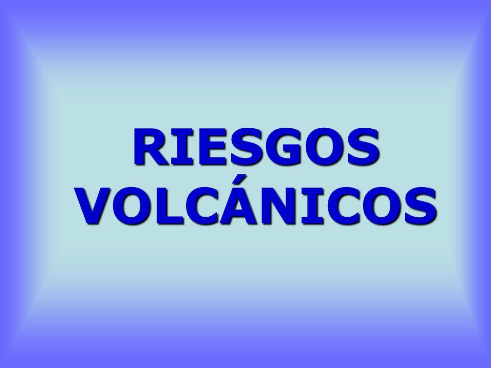 RIESGOS VOLCÁNICOS