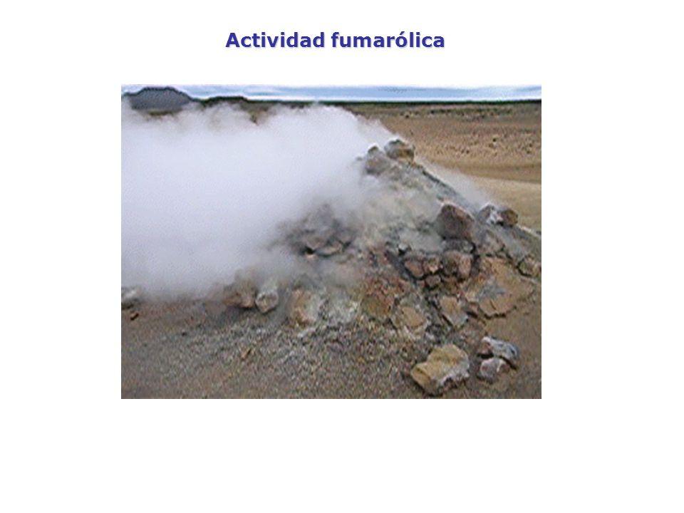 Actividad fumarólica