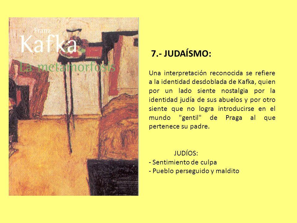 7.- JUDAÍSMO:
