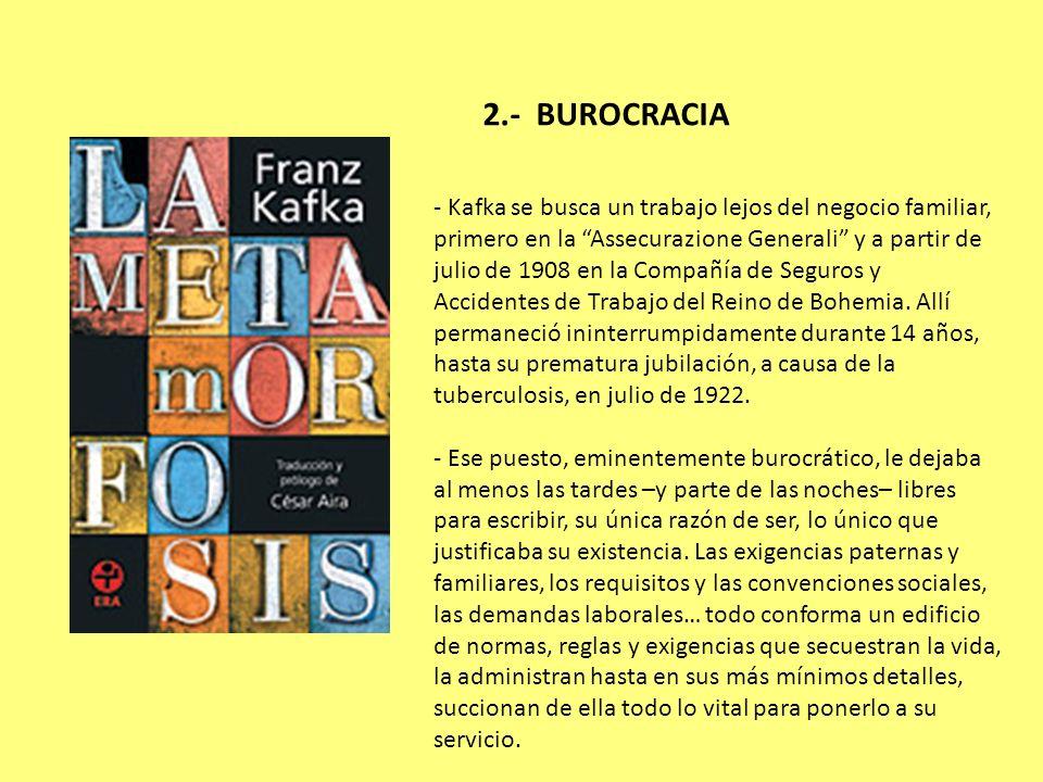2.- BUROCRACIA