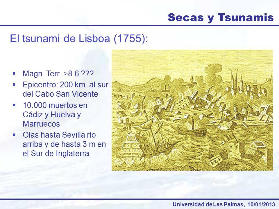 El tsunami de Lisboa (1755):