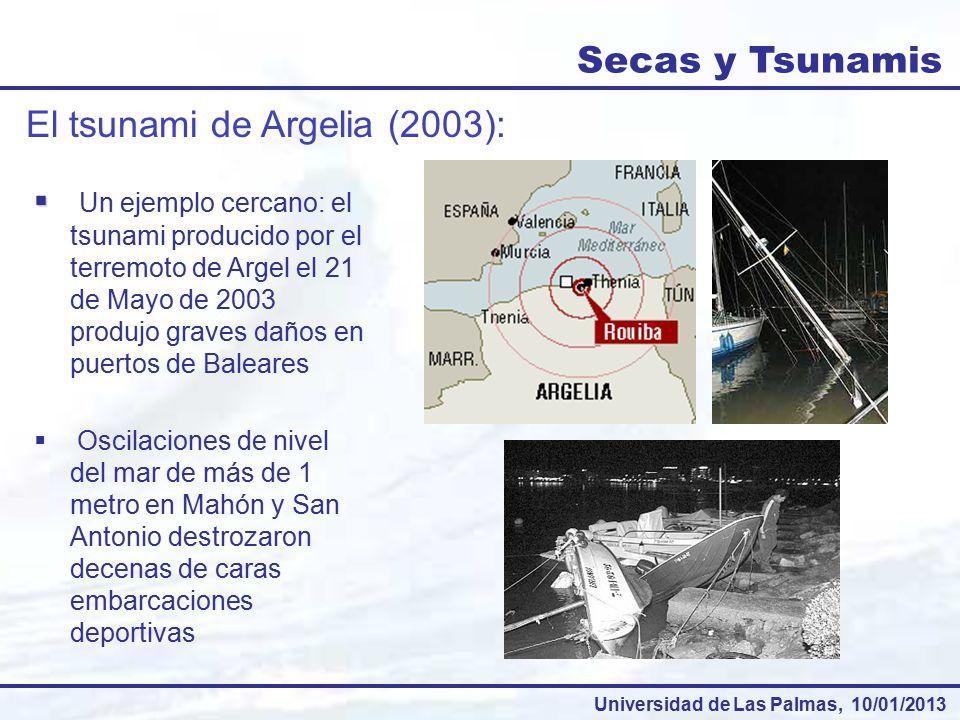 El tsunami de Argelia (2003):