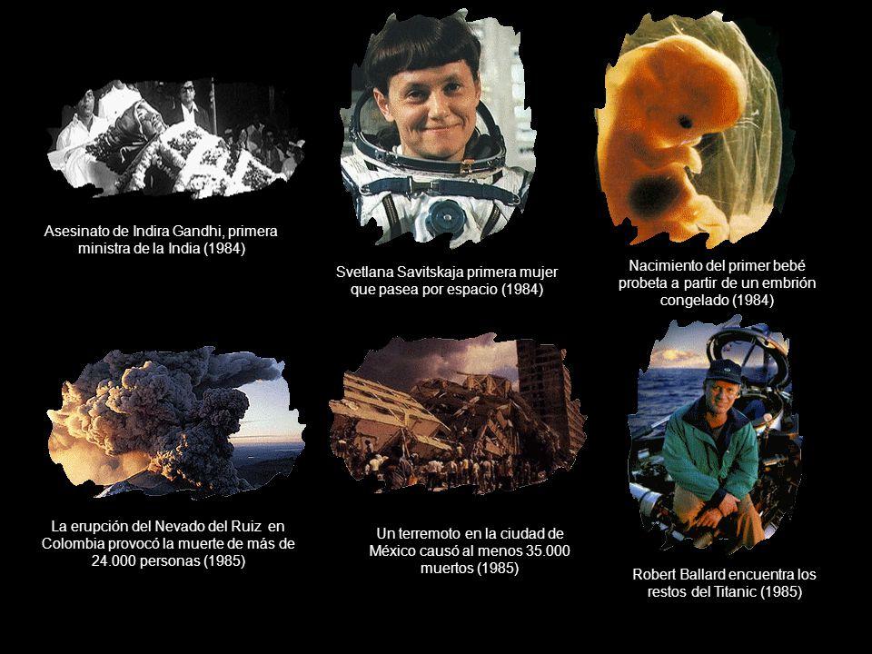 Asesinato de Indira Gandhi, primera ministra de la India (1984)