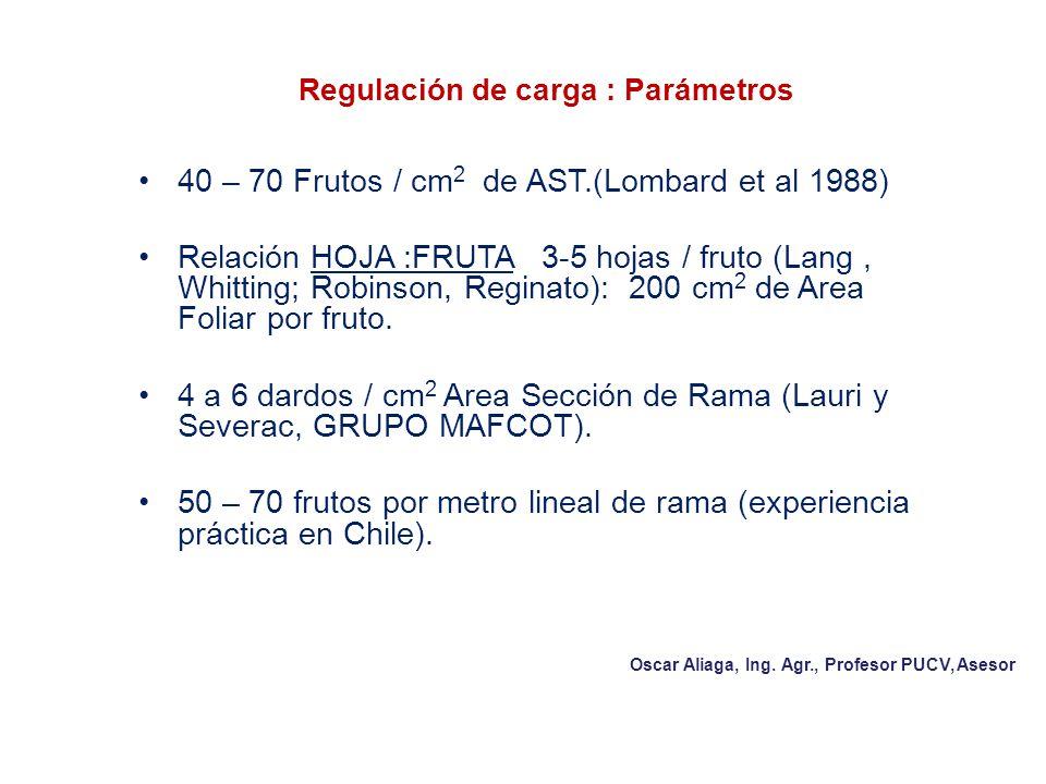 Regulación de carga : Parámetros