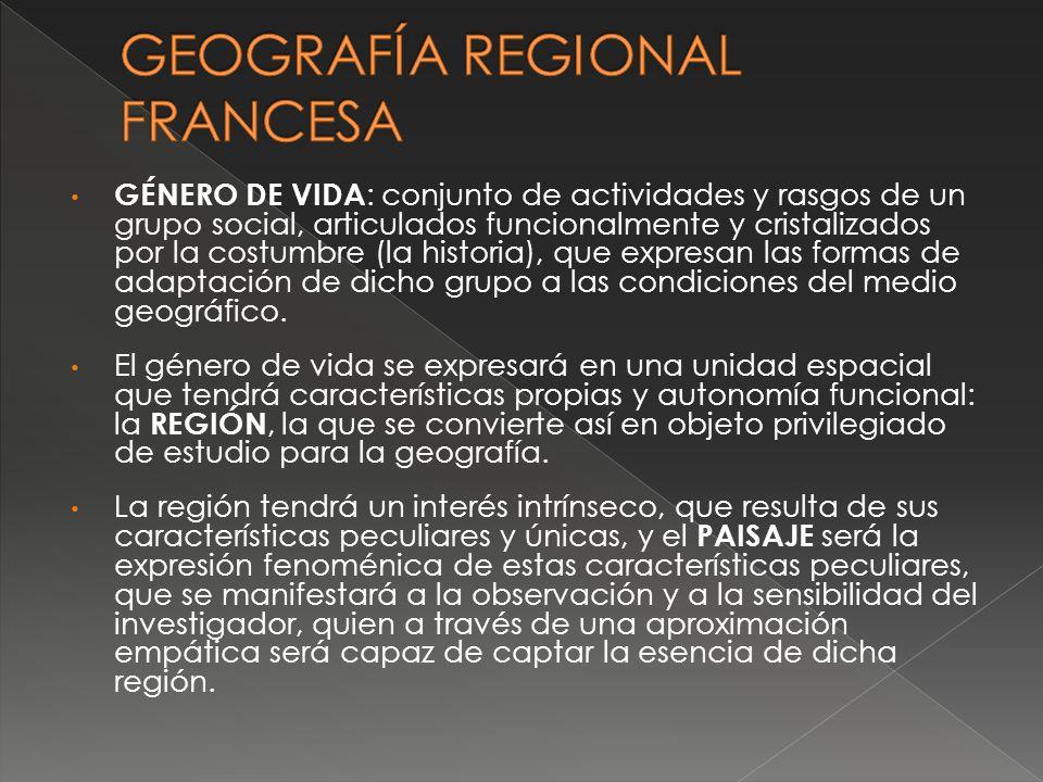GEOGRAFÍA REGIONAL FRANCESA