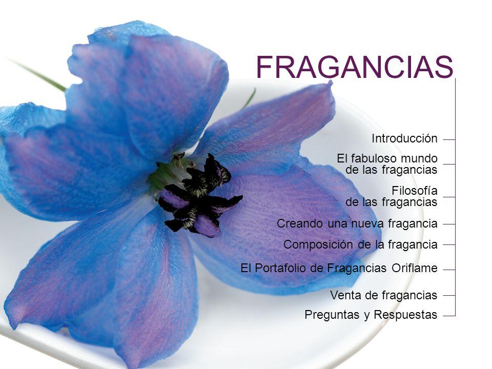 FRAGANCIAS Introducción El fabuloso mundo de las fragancias Filosofía