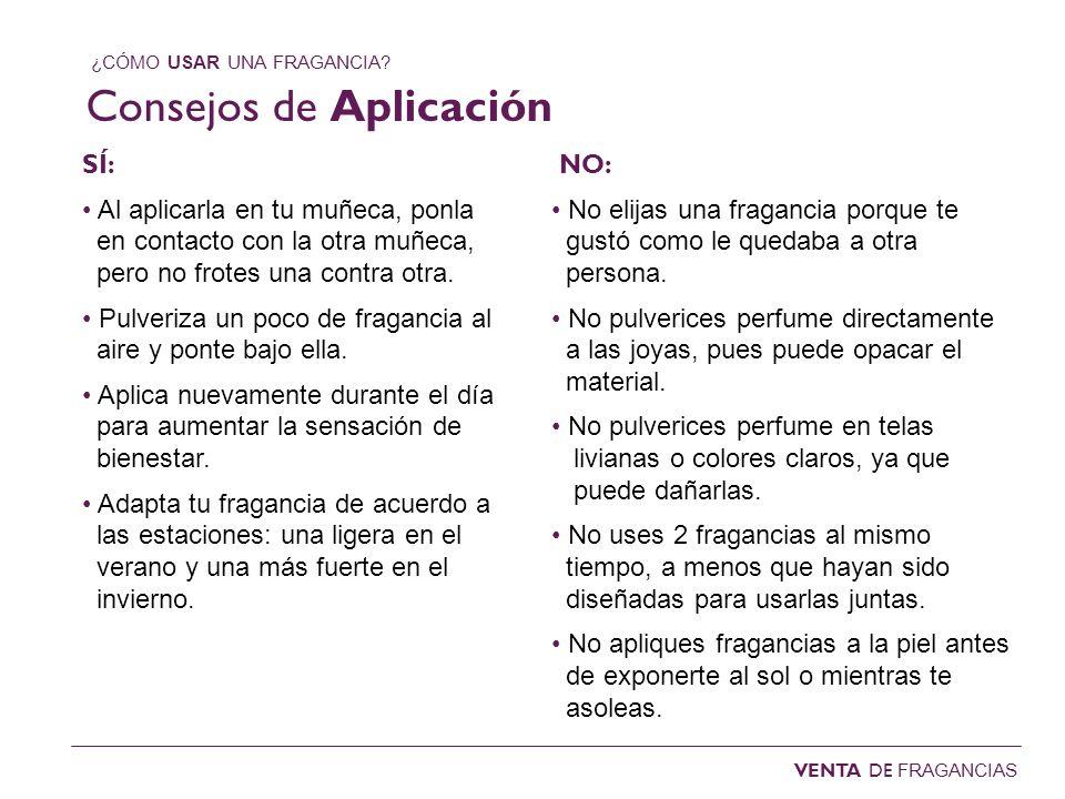 Consejos de Aplicación