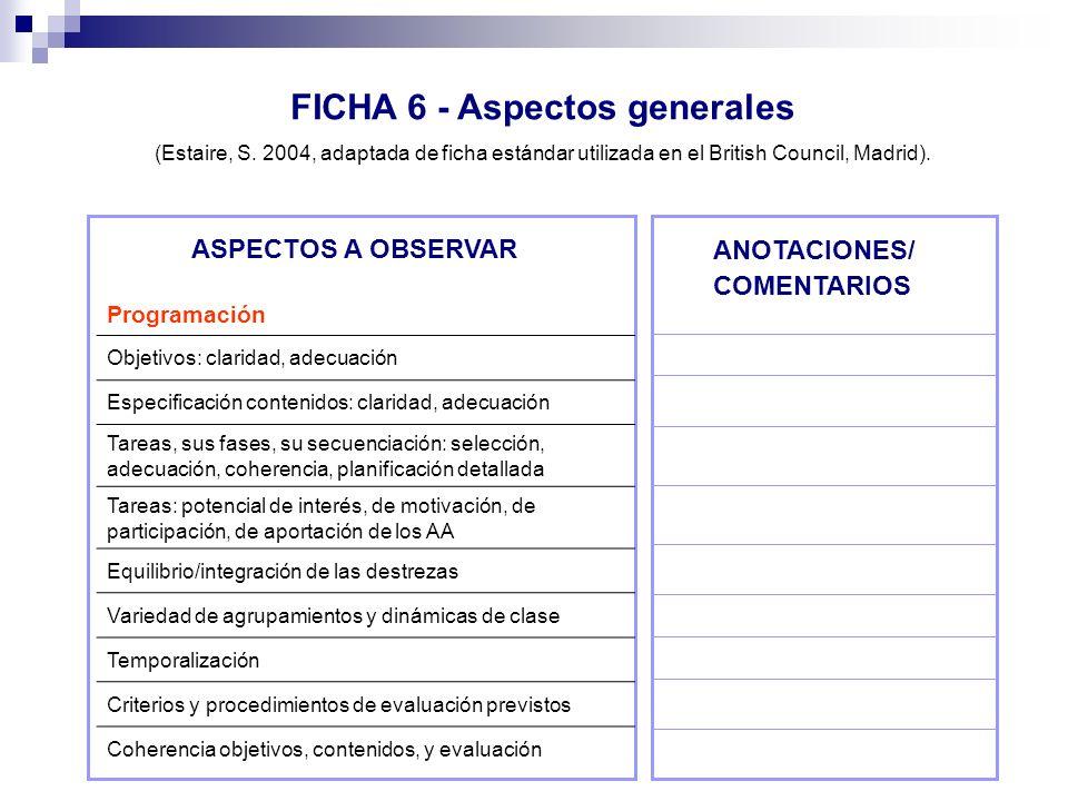 FICHA 6 - Aspectos generales