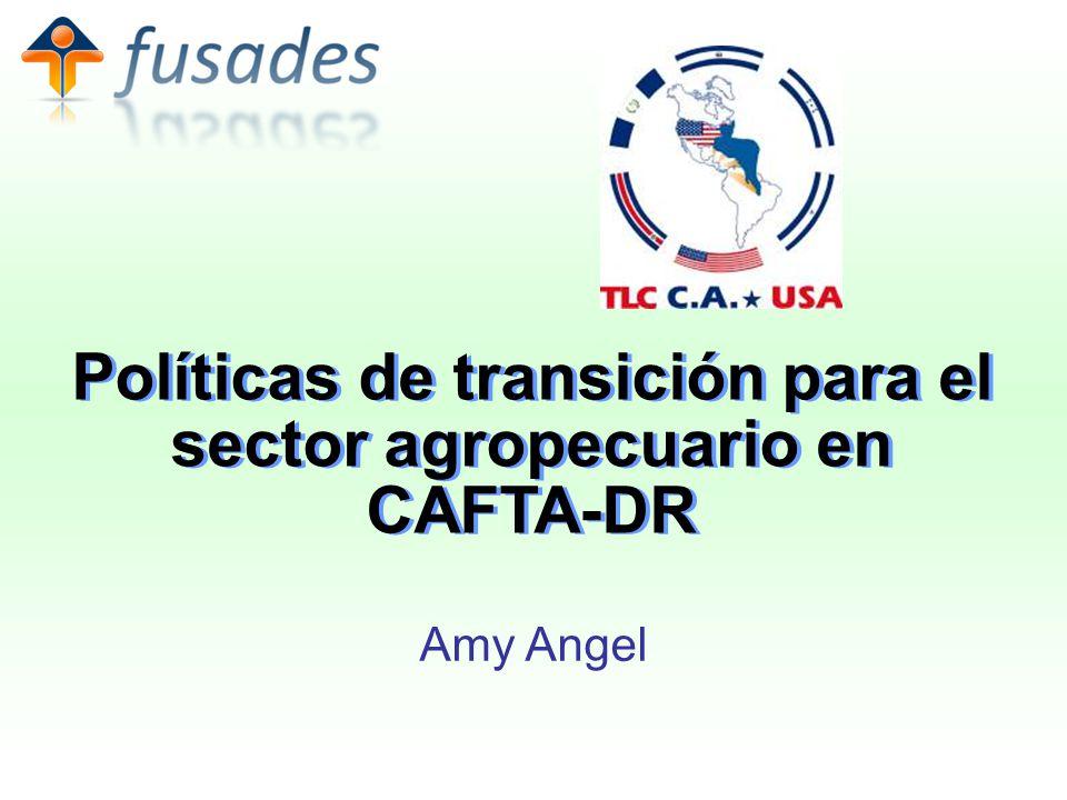 Políticas de transición para el sector agropecuario en