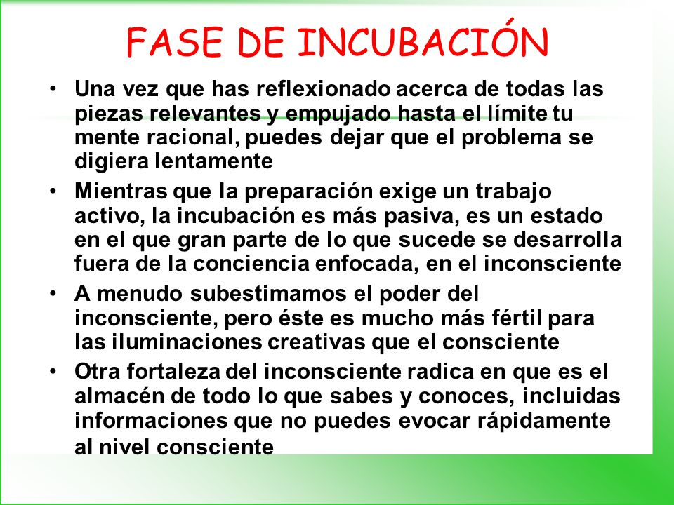FASE DE INMERSIÓN