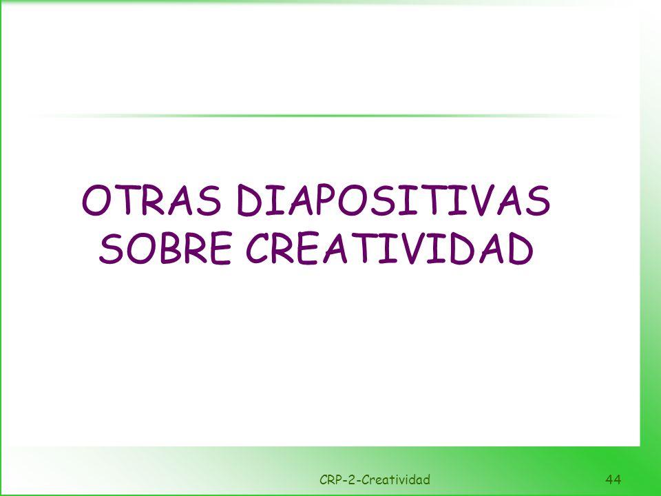 Creatividad Creatividad y Resolución de problemas