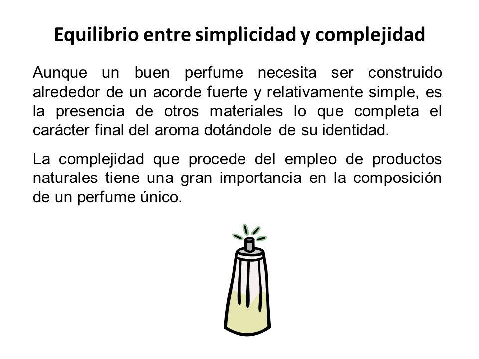 Equilibrio entre simplicidad y complejidad