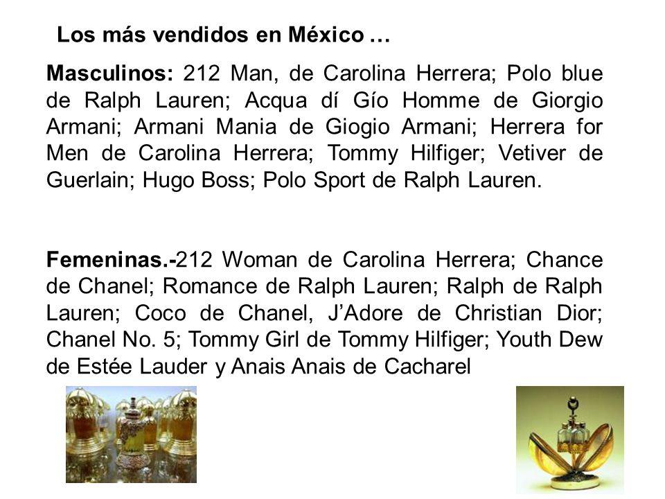 Los más vendidos en México …