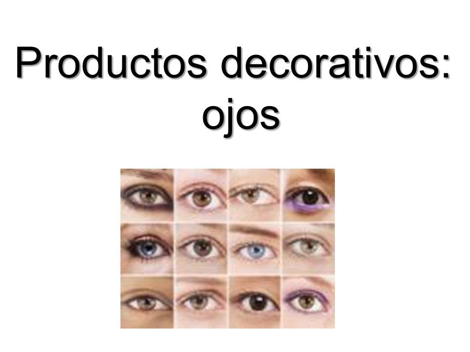 Productos decorativos: