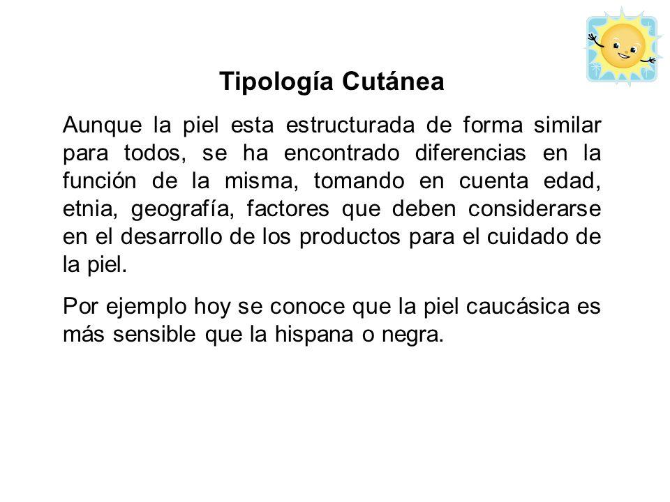 Tipología Cutánea