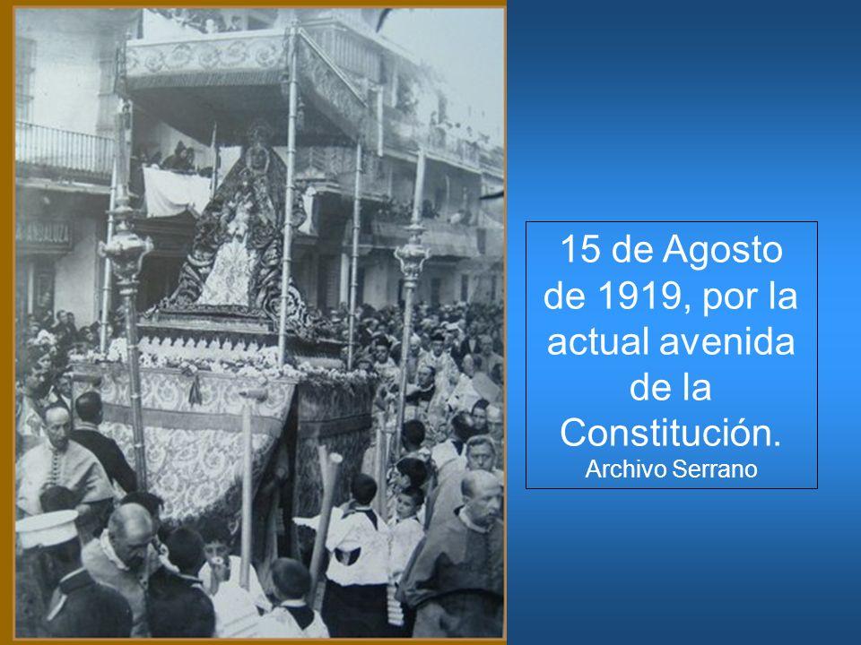 15 de Agosto de 1919, por la actual avenida de la Constitución