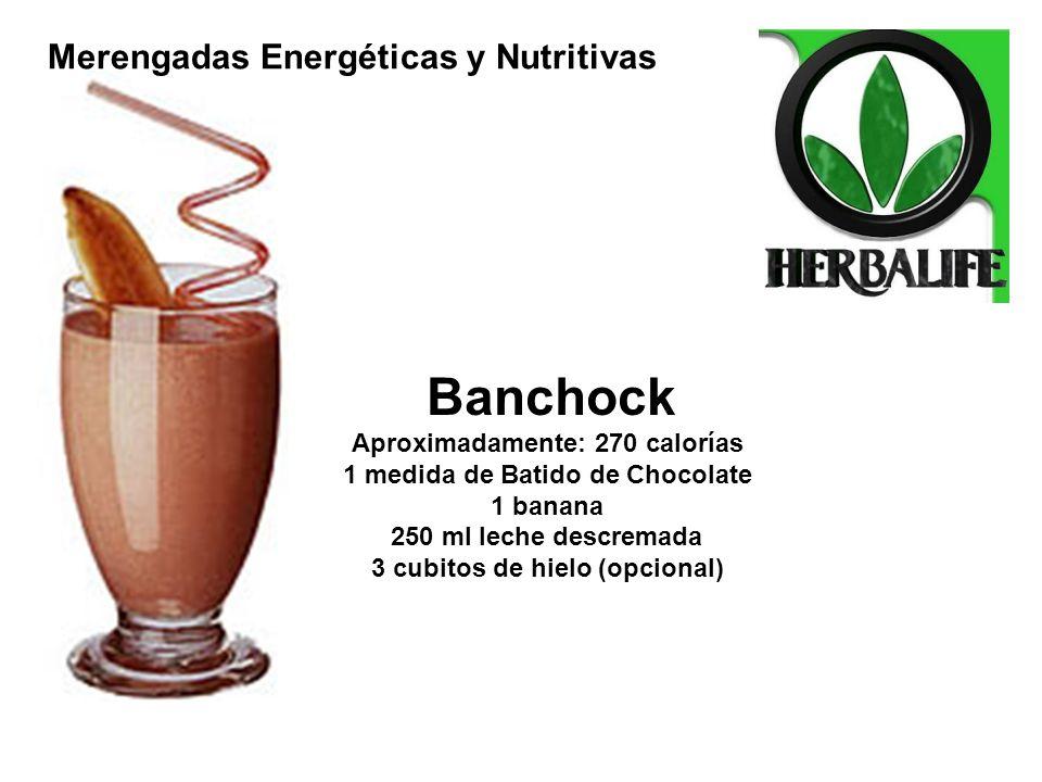 Banchock Merengadas Energéticas y Nutritivas