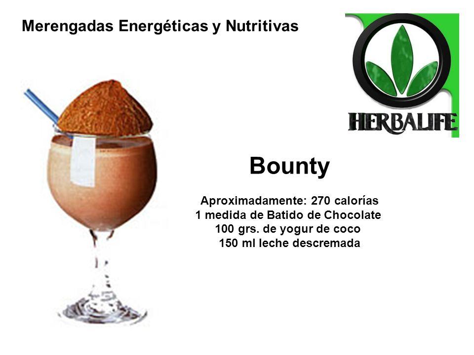 1 medida de Batido de Chocolate