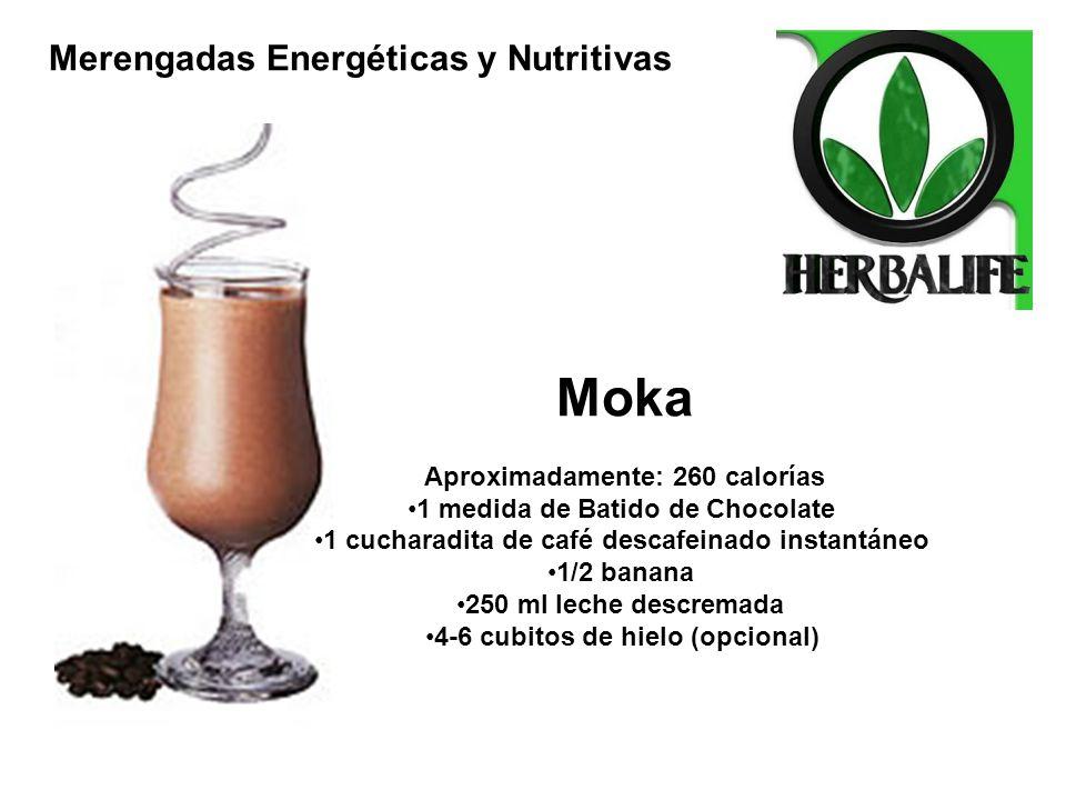 Moka Aproximadamente: 260 calorías