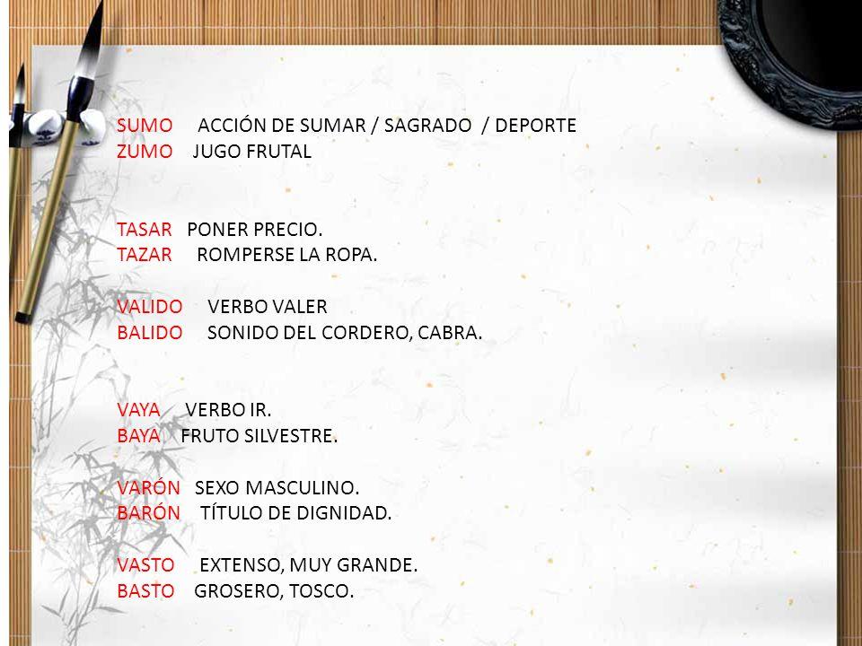 SUMO ACCIÓN DE SUMAR / SAGRADO / DEPORTE