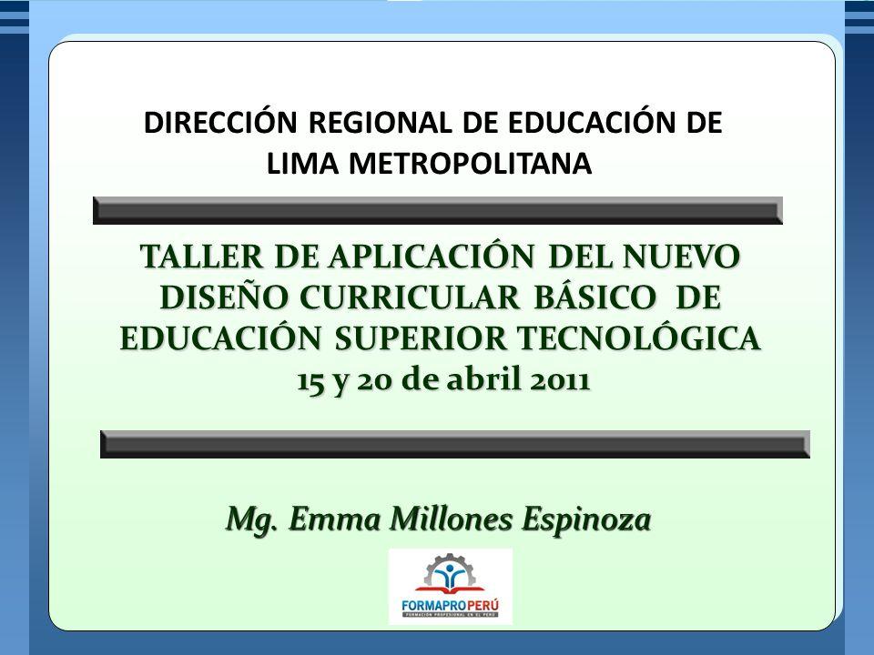 DIRECCIÓN REGIONAL DE EDUCACIÓN DE