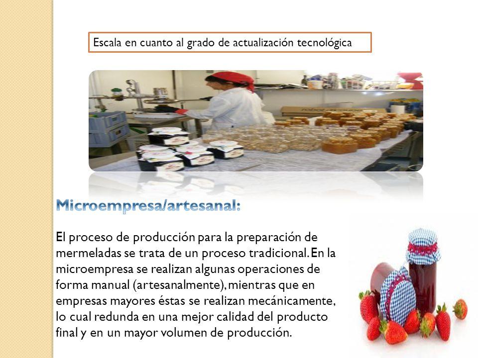 Microempresa/artesanal: