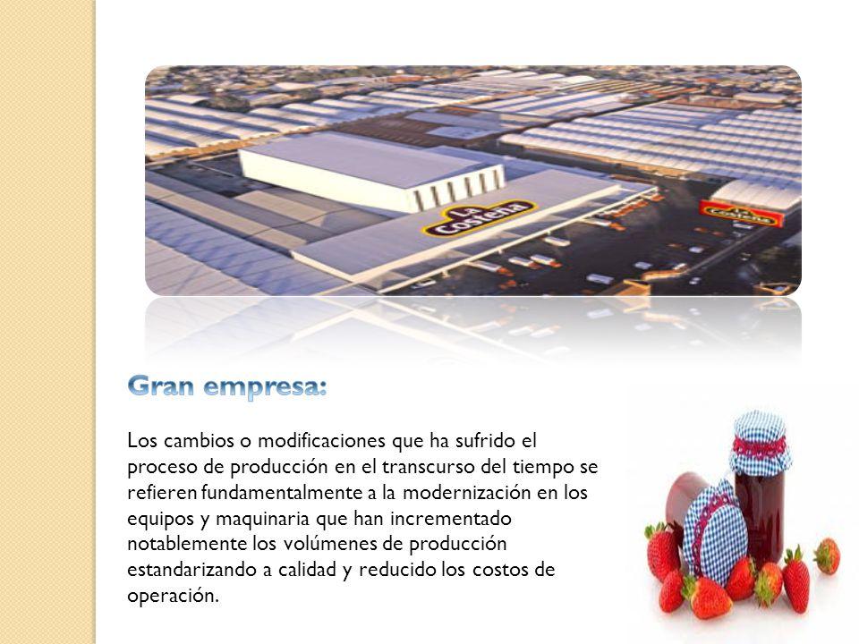 Gran empresa: