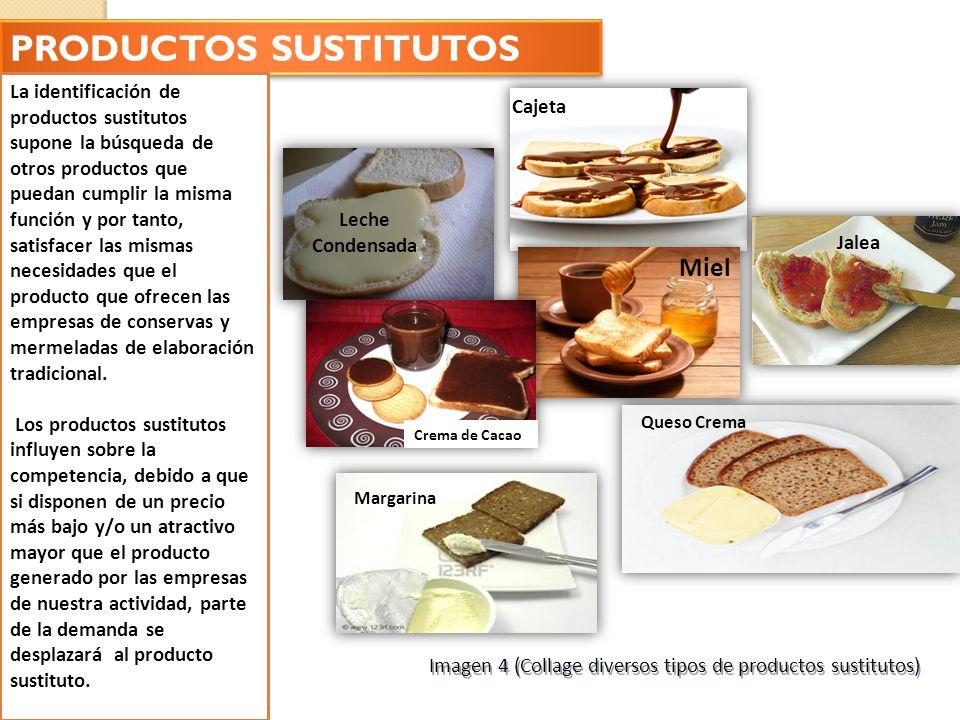 PRODUCTOS SUSTITUTOS Miel