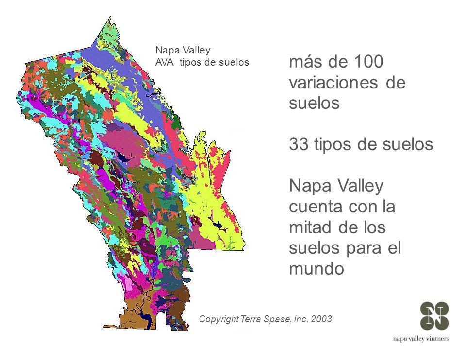 más de 100 variaciones de suelos