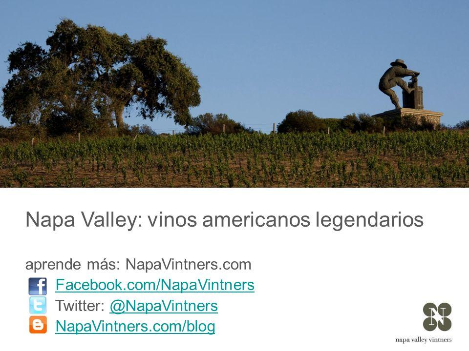 Napa Valley: vinos americanos legendarios