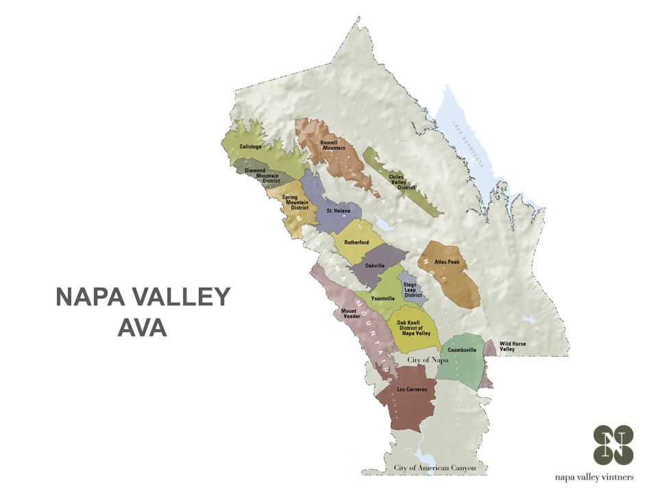 Napa Valley is small: the valley floor, located between the Mayacamas Mountains and Vaca Range, is just about 5 miles across at its widest point and 30 miles at its longest.