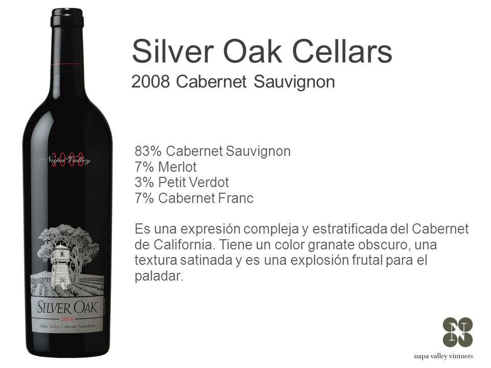 Silver Oak Cellars 2008 Cabernet Sauvignon