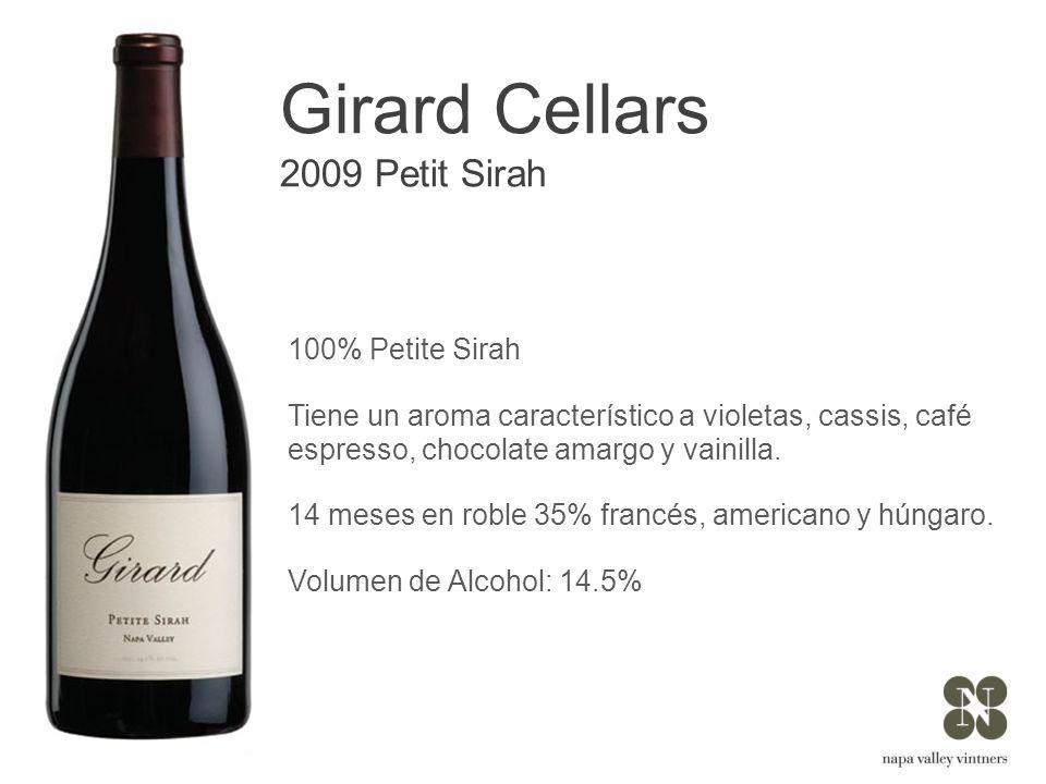 Girard Cellars 2009 Petit Sirah