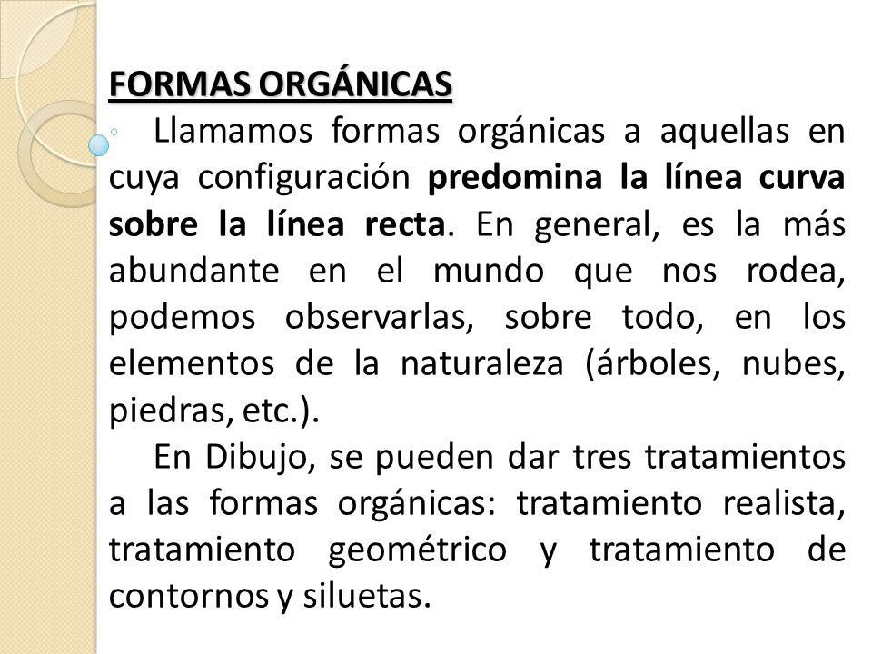 FORMAS ORGÁNICAS