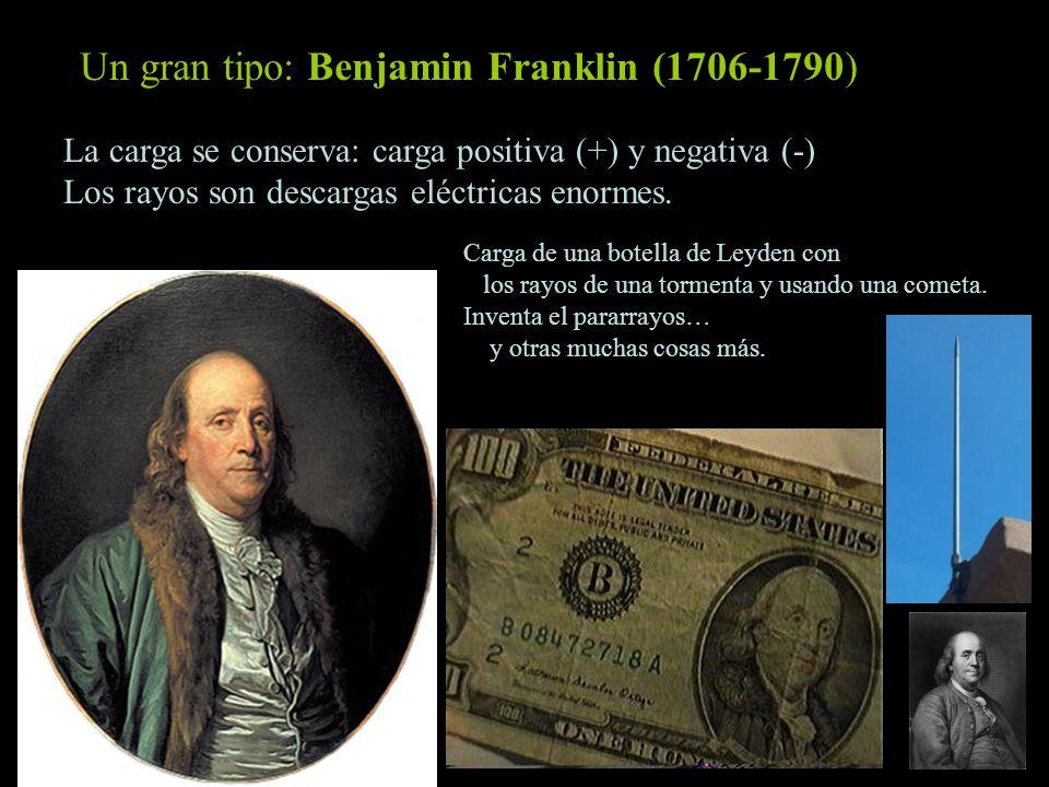 Un gran tipo: Benjamin Franklin (1706-1790)