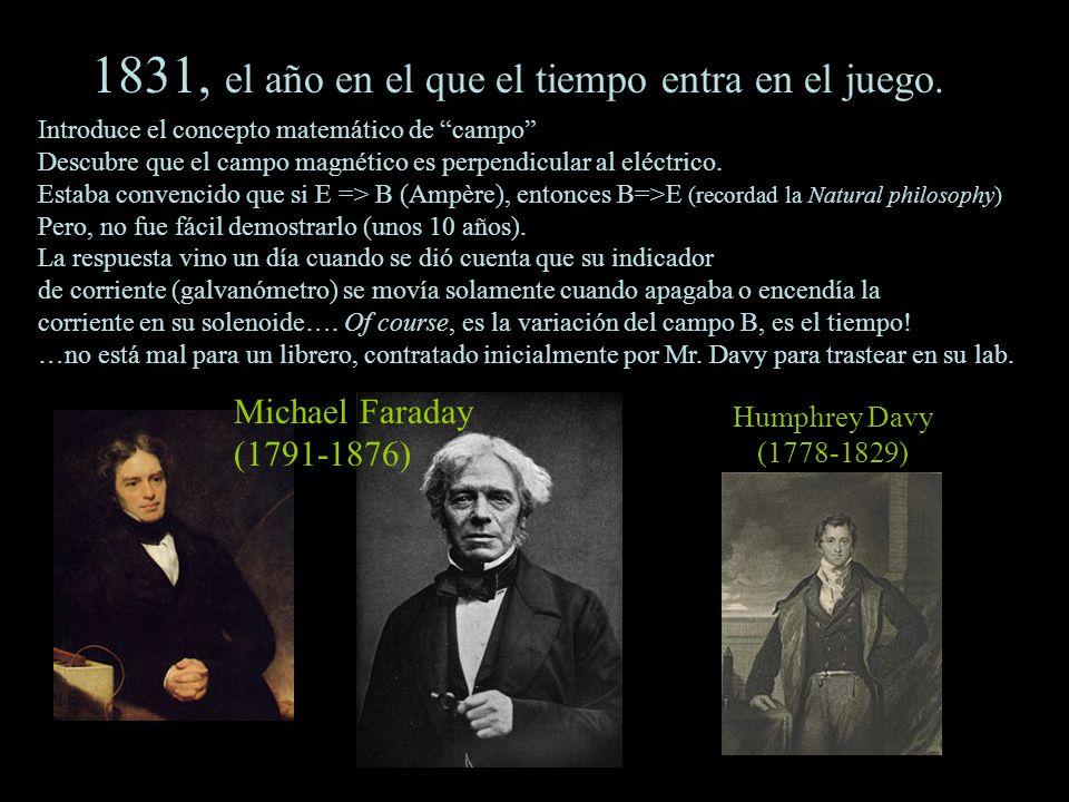 1831, el año en el que el tiempo entra en el juego.