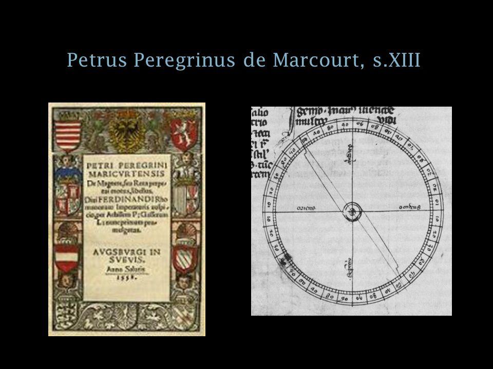 Petrus Peregrinus de Marcourt, s.XIII