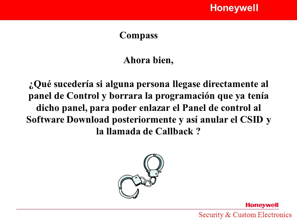 Honeywell Compass Ahora bien,