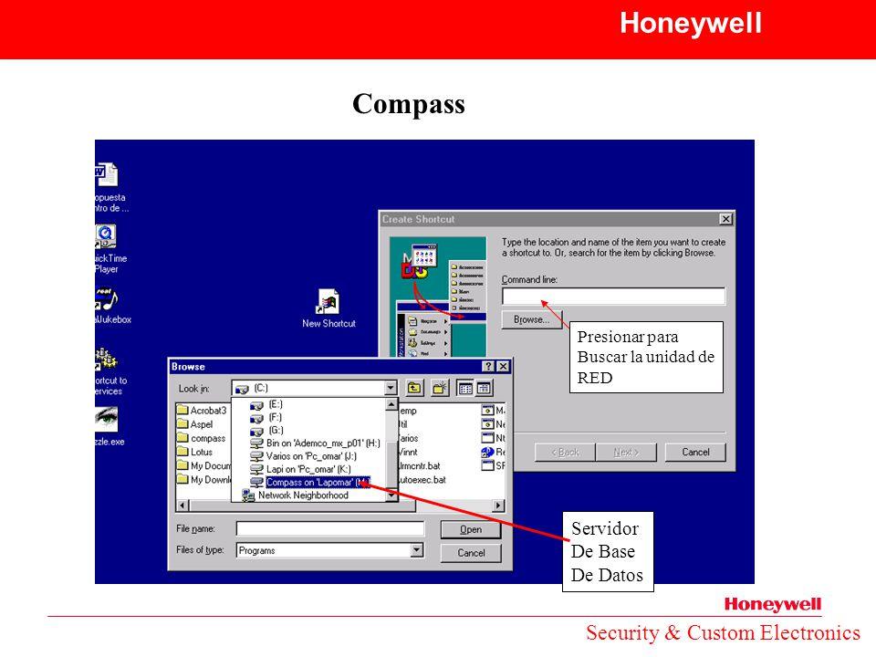 Honeywell Compass Security & Custom Electronics Servidor De Base