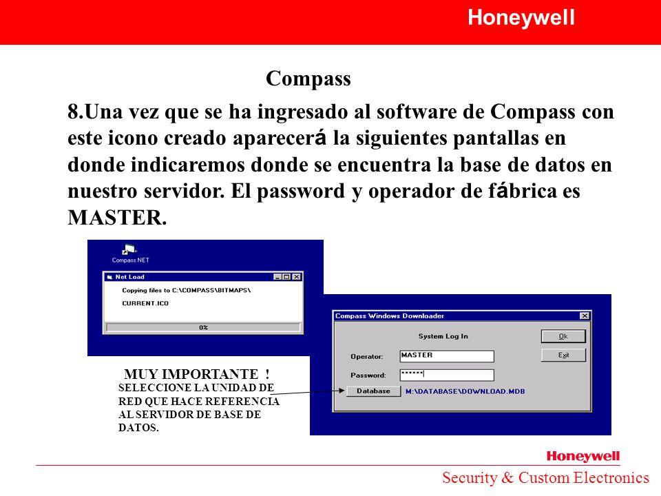 Honeywell Compass.