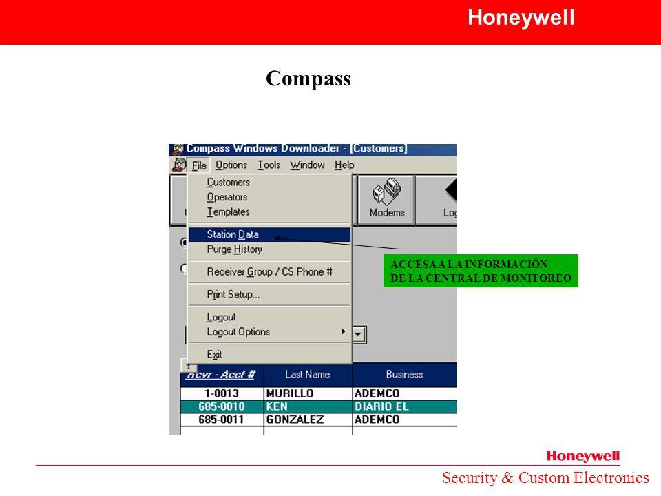 Honeywell Compass Security & Custom Electronics