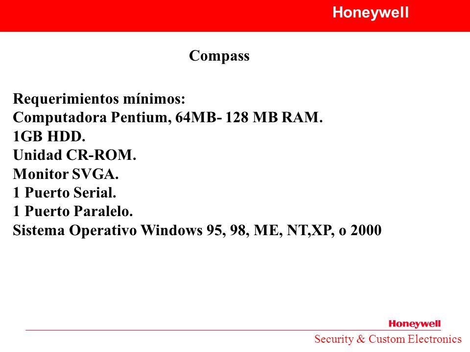 Requerimientos mínimos: Computadora Pentium, 64MB- 128 MB RAM.