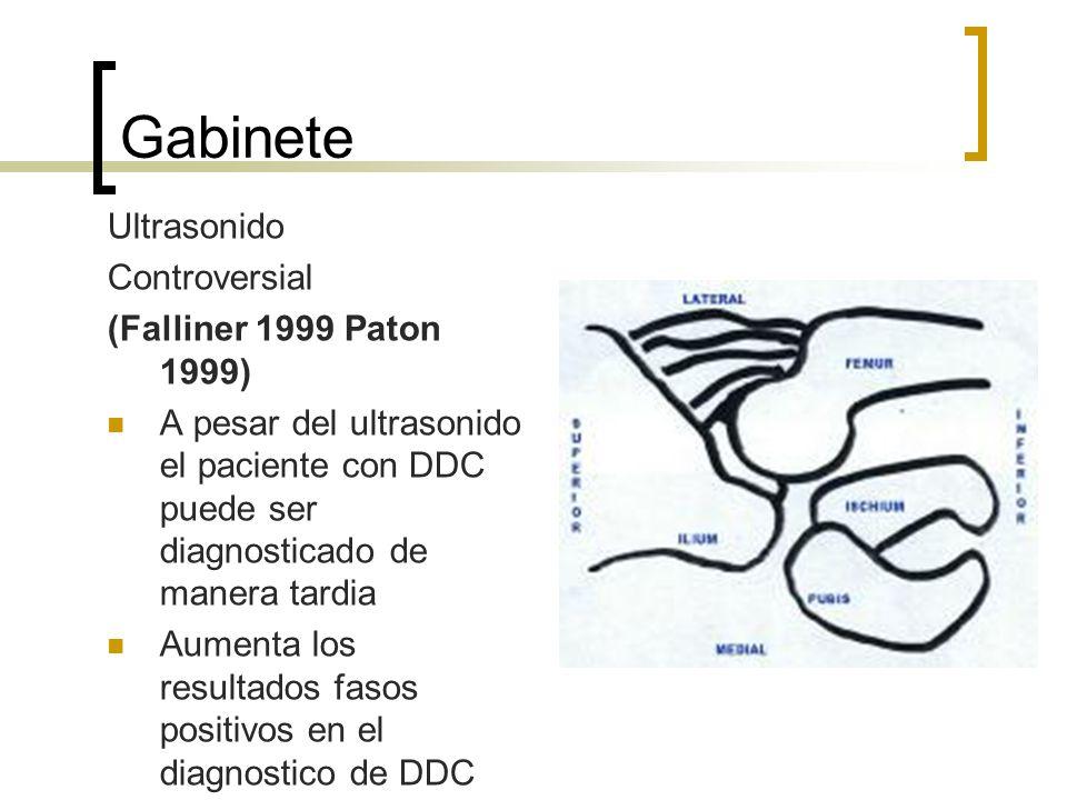 Gabinete Ultrasonido Controversial (Falliner 1999 Paton 1999)