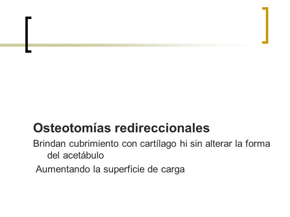 Osteotomías redireccionales