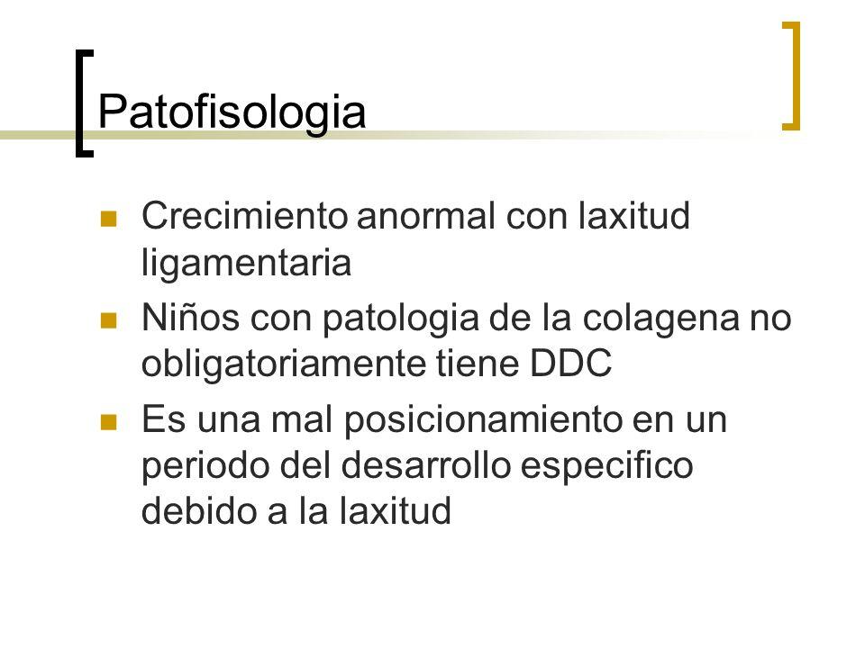 Patofisologia Crecimiento anormal con laxitud ligamentaria