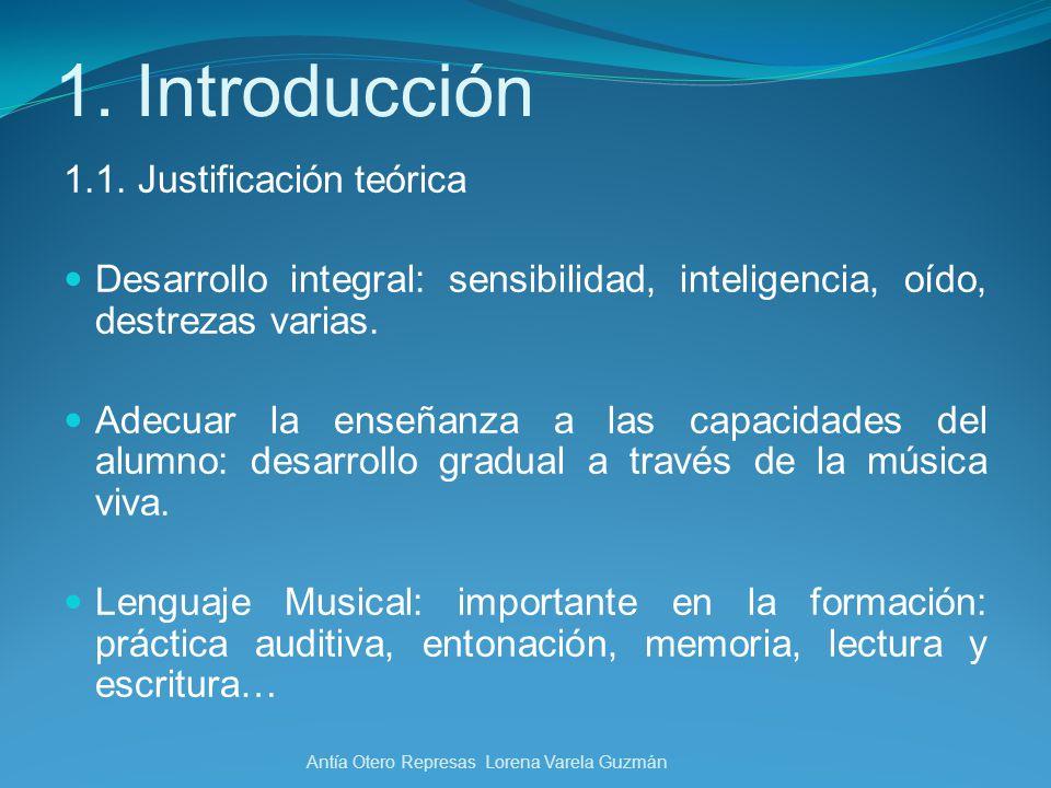 1. Introducción 1.1. Justificación teórica