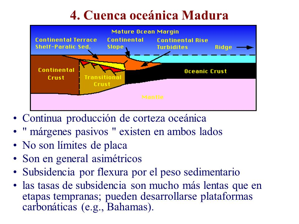 4. Cuenca oceánica Madura