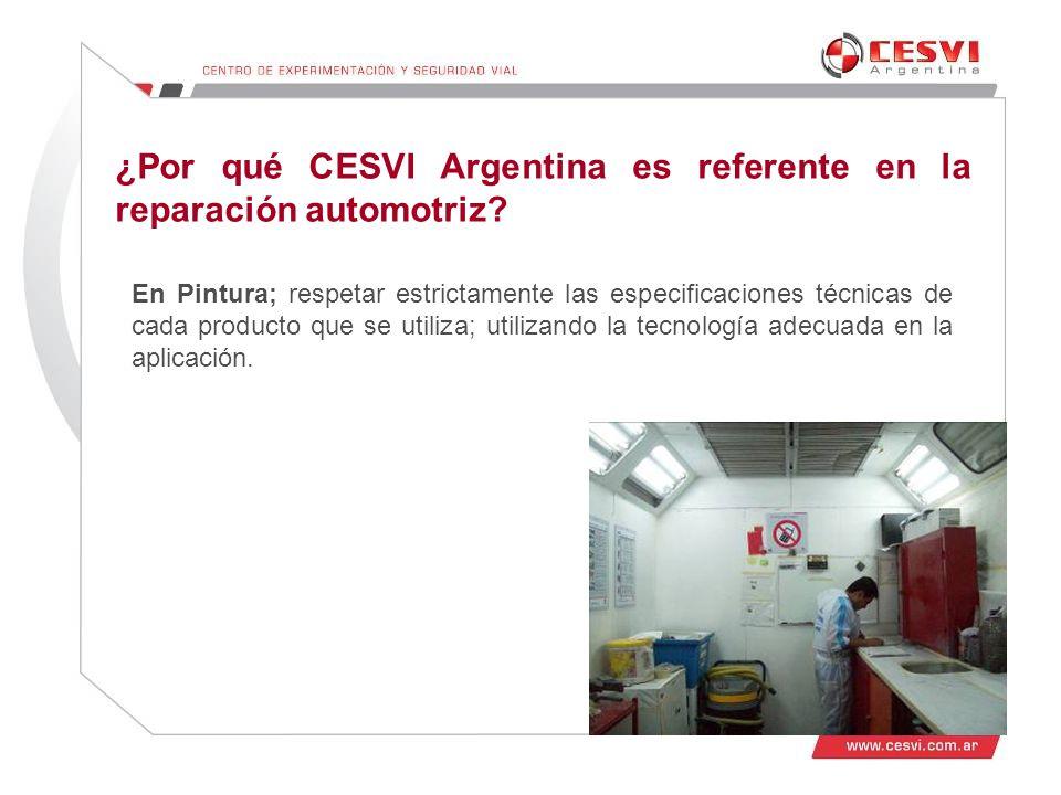¿Por qué CESVI Argentina es referente en la reparación automotriz