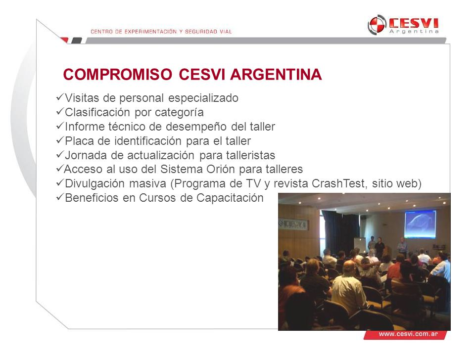 COMPROMISO CESVI ARGENTINA